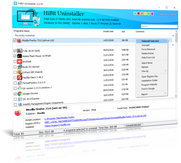 hibit Uninstaller