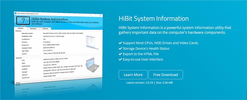 Resultado de imagen de HiBit System Information 2